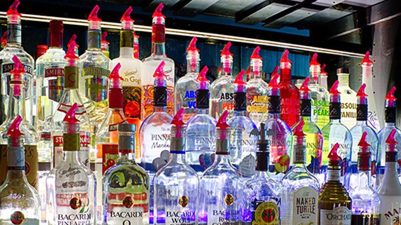 Selection of Liquor